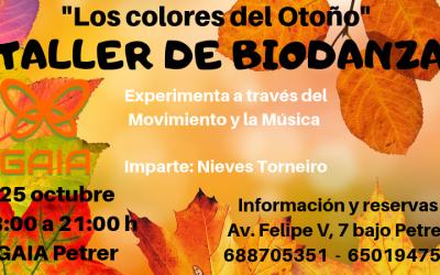 TALLER DE BIODANZA «Los Colores del Otoño»