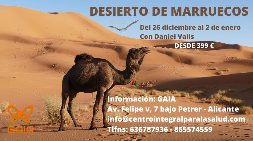 Desierto de Marruecos, Fin de Año con Daniel Valls