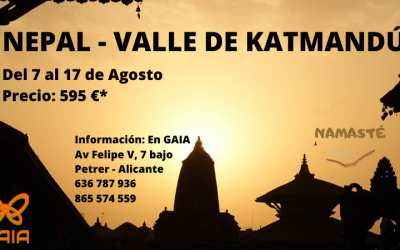 Nepal, Agosto 2020 «Valle de Katmandú»